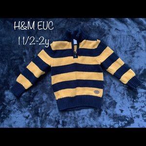 H&M 1-2y Boy Sweater